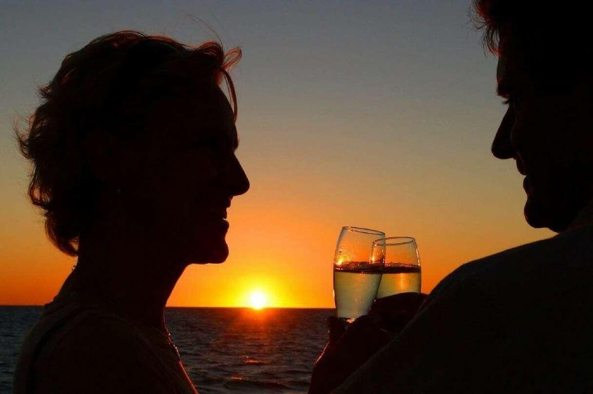 Romance Under the Sunset Cruise