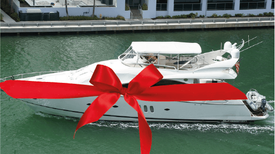Rent a boat for a birthday party in miami