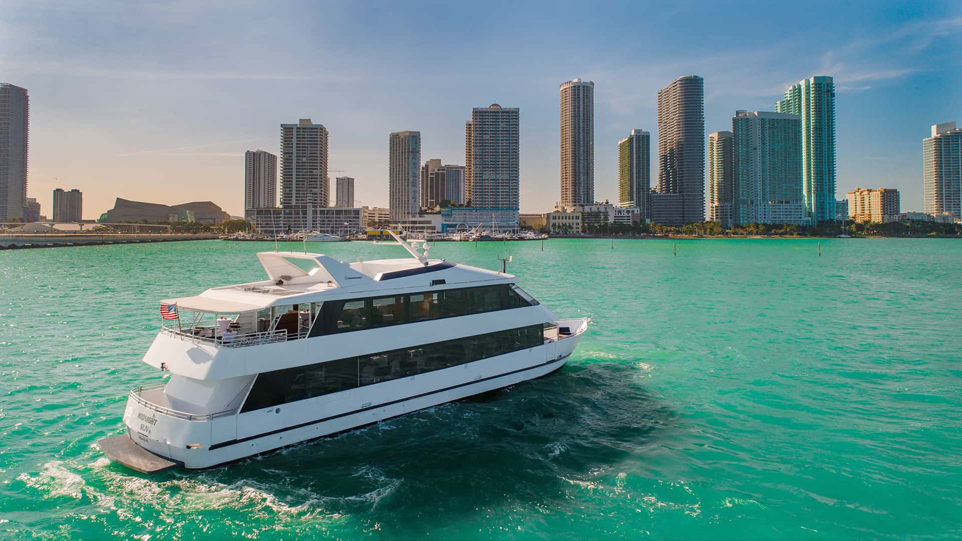 Miami Party Yacht Charters